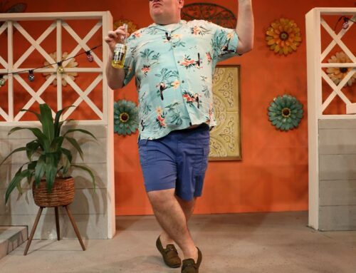REVIEW: BRIGHT COLORS AND BOLD PATTERNS' IS A COMIC DELIGHT AT ISLAND CITY STAGE